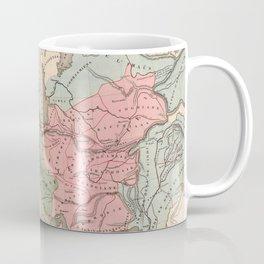 Vintage Alexander The Great Empire Map (1838) Coffee Mug
