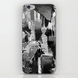 metal canal iPhone Skin
