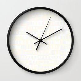 Beethoven Moonlight Sonata (Whites) Wall Clock