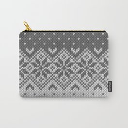Winter knitted pattern 8 Carry-All Pouch