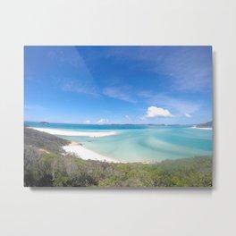 Whitehaven beach Metal Print