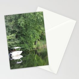 Green Mirror: Stillness of Summer Stationery Cards