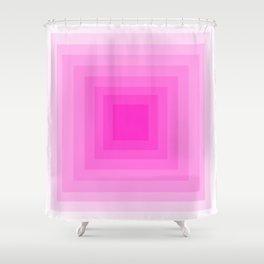 Fuschia Monochrome Shower Curtain