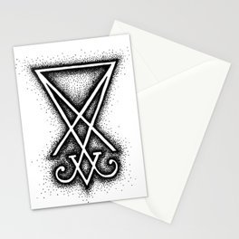 Sigil Of Lucifer Stationery Cards