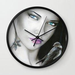 'Purple Aura' Wall Clock