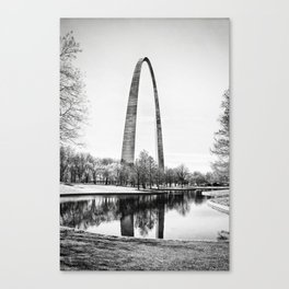 The St. Louis Arch Canvas Print