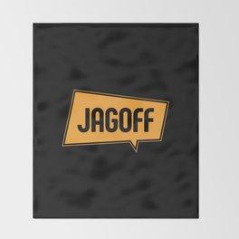 Jagoff Throw Blanket