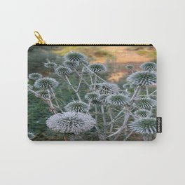 Seed Head Of Leek Flower Allium Sphaerocephalon  Carry-All Pouch