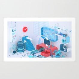 Essense Partners Art Print