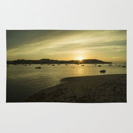 Torridge estuary sunset  Rug