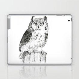 My great horned owl: Nuit Laptop & iPad Skin