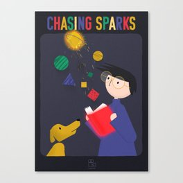 Chasing Sparks Canvas Print
