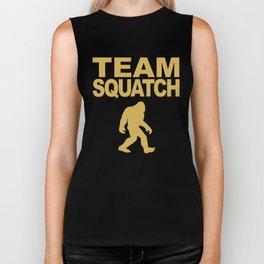 Team Squatch Bigfoot T-Shirt Biker Tank