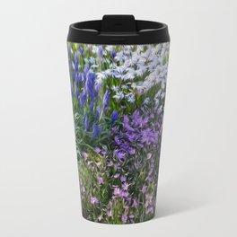 Painterly Strokes Travel Mug