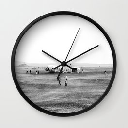Iceland Landscape 002 Wall Clock
