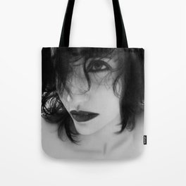 The Realm In-between - Self Portrait Tote Bag