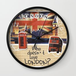Who doesn´t love London? Wall Clock