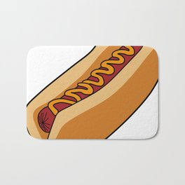Hotdog Bath Mat