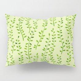 Mini Leaf Gathering (Green) Pillow Sham