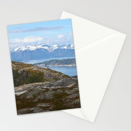 Kvaenangsfjord, Norway 3 Stationery Cards