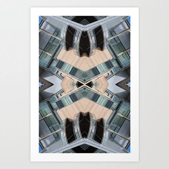 ORY 0812 (Symmetry Series III) Art Print