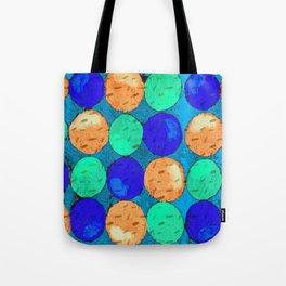 Circle of Colors 2 Tote Bag