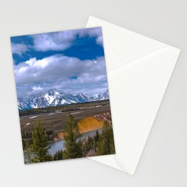 Tetons and the Snake River Stationery Cards