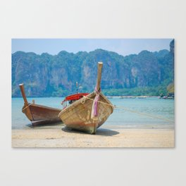 Longtail Boat Canvas Print