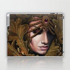 Mabon - goddess of fall Laptop & iPad Skin