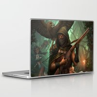 hunter Laptop & iPad Skins featuring Hunter by Mitul Mistry