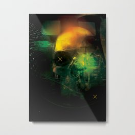 Self Destruction Metal Print