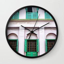 Open Windows - Kolkata Wall Clock