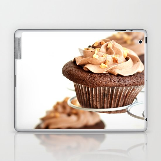 nutella cup cake Laptop & iPad Skin