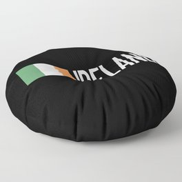 Ireland: Irish Flag & Ireland Floor Pillow