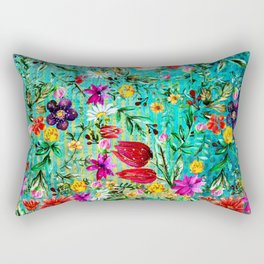 Old Chintz Rectangular Pillow