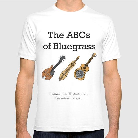 The ABCs of Bluegrass T-shirt