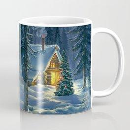 Christmas Snow Landscape Coffee Mug