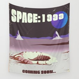 Space: 1999 promo vintage poster Wall Tapestry