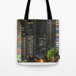 The Colors of Brickell Tote Bag