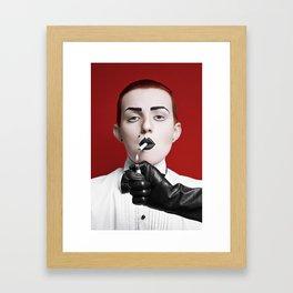 gentlewoman (for a gentleman?) Framed Art Print