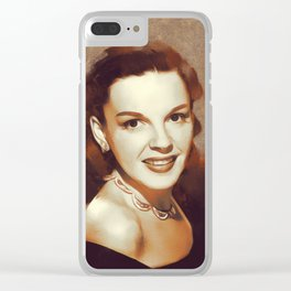 Judy Garland, Hollywood Legend Clear iPhone Case