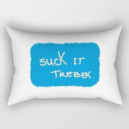 Suck It Trebek Rectangular Pillow