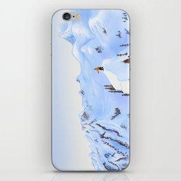 Winter Flight - Drawing 2 iPhone Skin