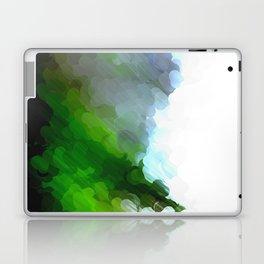 Green Dot Paint Laptop & iPad Skin