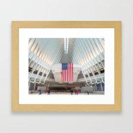 Path Station | New York City | America Framed Art Print