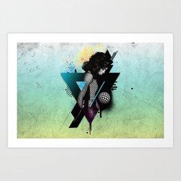 Ciara - Overdose Art Print