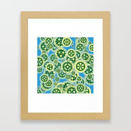 Gearwheels Framed Art Print