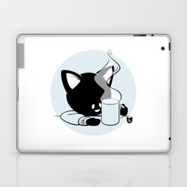 Morning Cat Laptop & iPad Skin