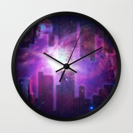 ex Tenebris Lux Wall Clock