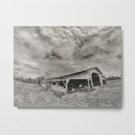 The barn at Goodhope. Metal Print